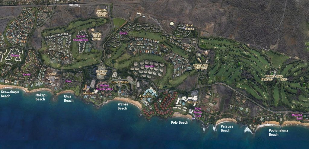 Resorts & Beaches of Wailea-Makena